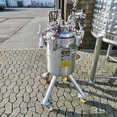 76 Liter Behälter aus V2A