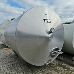 13500 Liter Behälter aus V2A