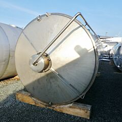 25000 Liter Behälter aus V2A