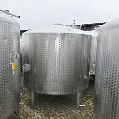 5000 Liter Behälter aus V2A