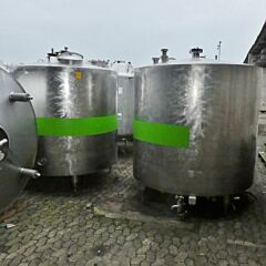 4500 Liter Behälter aus V2A