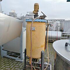 300 Liter Behälter aus Fe