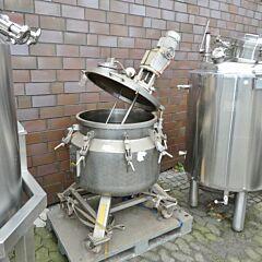 176 liter Behälter aus V4A