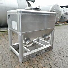 400 Liter Container aus Alumin
