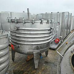 2732 Liter Behälter aus V2A