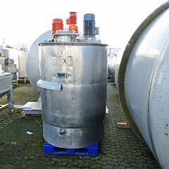 1800 Liter Behäter aus V4A