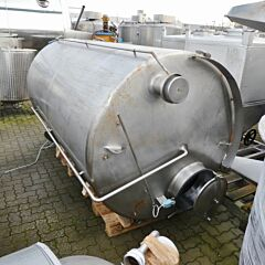 3500 Liter Behälter aus V4A
