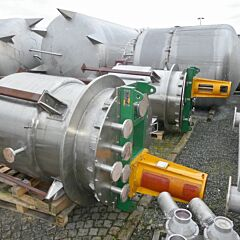 1500 Liter Behälter aus V4A