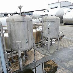 500 Liter Behälter aus V4A