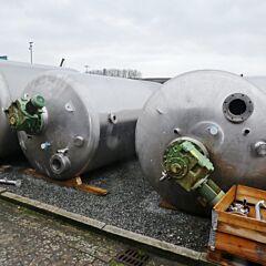 11535 Liter Behälter aus V2A