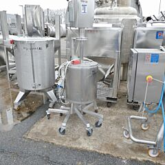 50 Liter heiz-/kühlbarer Behälter aus V2A