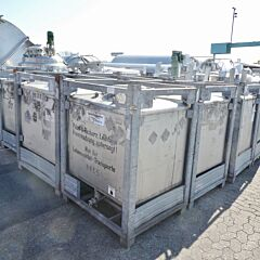 1000 Liter IBC Container aus V2A