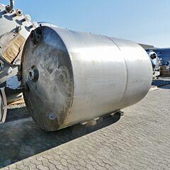 8500 Liter Druckbehälter aus V2A