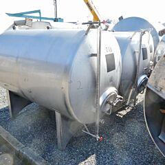 3000 liter tank, Aisi 304