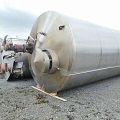 50000 Liter Behälter aus V2A