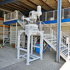 375 Liter Behälter aus V2A