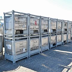 500 Liter IBC Container aus V2A