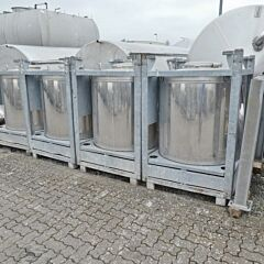 1000 Liter Container aus V2A