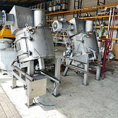 425 liter heatable / coolable Amixon powder mixer