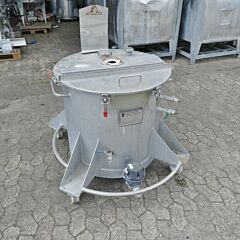 300 liter heat-/coolable tank, Aisi 304