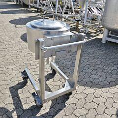 30 Liter heiz-/kühlbarer Behälter aus V4A