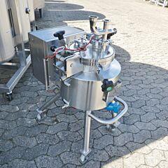 17 Liter heiz-/kühlbarer Druckbehälter aus V4A
