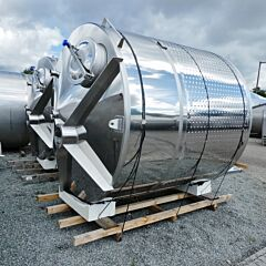Brand new 10000 Liter heat-/coolable tank, Aisi 304
