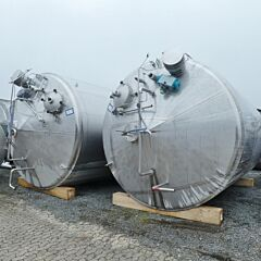 37000 Liter Behälter aus V2A