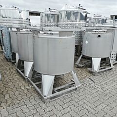 650 liter container, Aisi 316