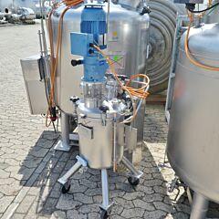 70 Liter Behälter aus V4A