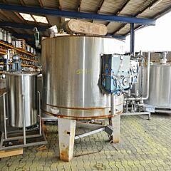 2300 Liter Behälter aus V2A