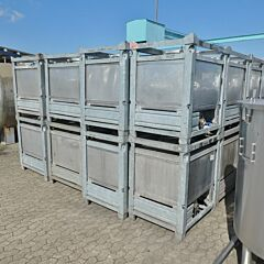 445 Liter Behälter aus V2A