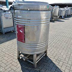 1000 Liter Druckcontainer aus V2A
