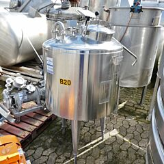 255 liter heat-/coolable tank, Aisi 316
