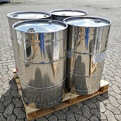 200 liter barrel, Aisi 304
