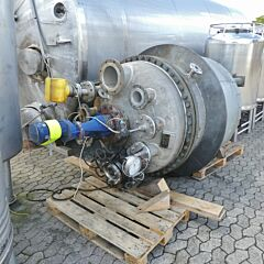 1517 liter heat-/coolable pressure tank, Aisi 316