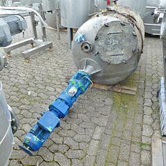 1100 Liter Behälter aus V4A