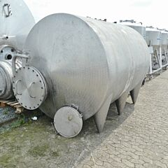 8000 Liter Behälter aus V2A