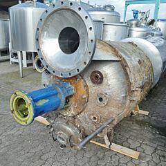 3120 Liter Behälter aus V2A