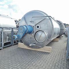 25500 Liter Behälter aus V2A