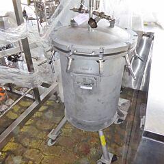 110 Liter Behälter aus V4A