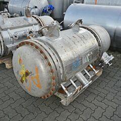 Heat exchanger, Aisi 316 (3 heating rooms)