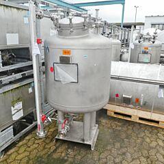 835 Liter Behälter aus V4A