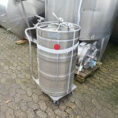 160 Liter Behälter aus V2A