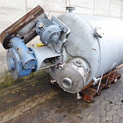 3000 Liter Behälter aus V4A