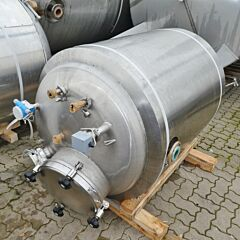 710 Liter Behälter aus V4A