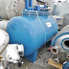 3500 liter pressure tank, plastic (GFK / PP)