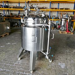 334 liter heat-/coolable tank, Aisi 316