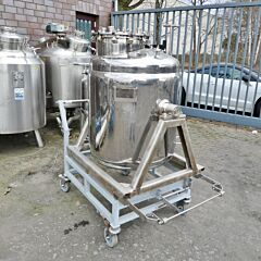 440 liter heat-/coolable tank, Aisi 304