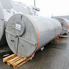 10000 liter tank, Aisi 304 with agitator flange
